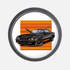 '78-81 Camaro Black Wall Clock