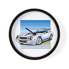 '78-81 Camaro White Wall Clock