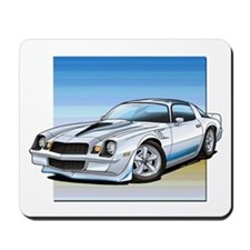 '78-81 Camaro White Mousepad
