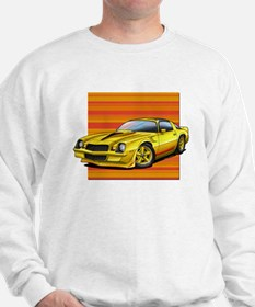 '78-81 Camaro Yellow Sweatshirt