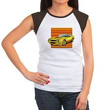'78-81 Camaro Yellow Women's Cap Sleeve T-Shirt