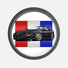 93-97 Camaro Black Wall Clock