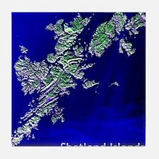 Shetland Islands Tile Coaster