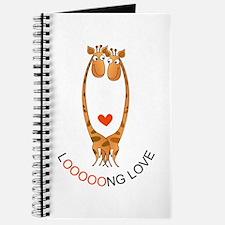 Giraffes Love Journal