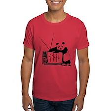 Panda Vision (Black) T-Shirt
