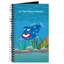 Blue It's Hard Being A Princess Journal