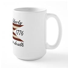 Give Me Liberty American Flag Mug