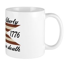 Give Me Liberty American Flag Mug
