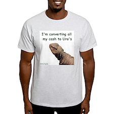 Uromastyx Ash Grey T-Shirt