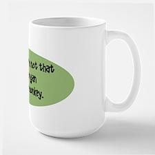 Salty Chimp Large Mug