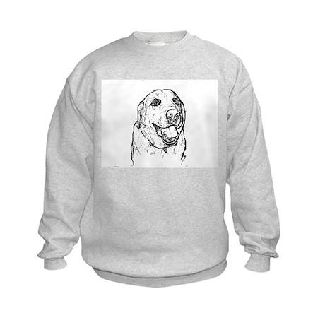 Color Me Labrador Kids Sweatshirt