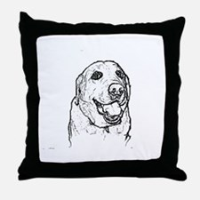 Color Me Labrador Throw Pillow