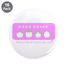 "Lady Grey Pride 3.5"" Button (10 pack)"