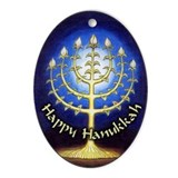 Happy hanukkah Ornaments