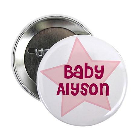 "Baby Alyson 2.25"" Button (10 pack)"