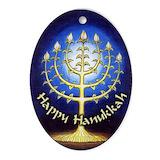 Happy hanukkah Ornaments