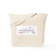 Ansley name molecule Tote Bag