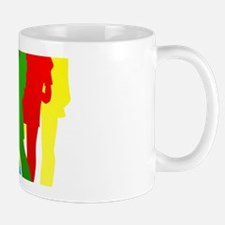Red, Blue, Green and Yellow People Mug