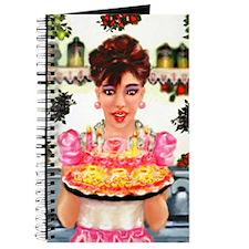 Vintage Happy Birthday Journal