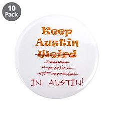 "Keep Austin 3.5"" Button (10 pack)"