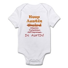 Keep Austin Infant Bodysuit
