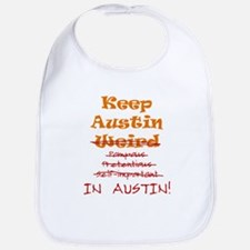 Keep Austin Bib