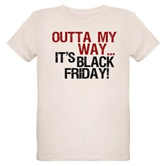 It's Black Friday Organic Kids T-Shirt