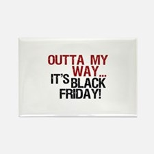 It's Black Friday Rectangle Magnet (100 pack)