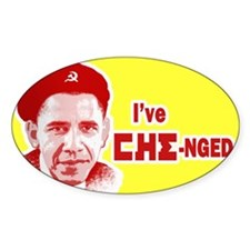 I've CHE-nged Oval Decal