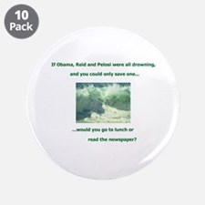 """What would YOU do?! 3.5"""" Button (10 pack)"""