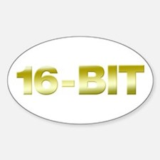 16-Bit Oval Decal