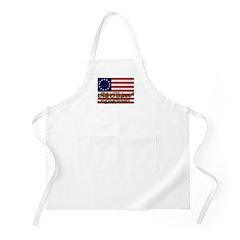Old School American BBQ Apron