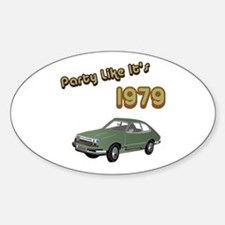 Party Like It's 1979 Oval Decal