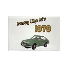 Party Like It's 1979 Rectangle Magnet