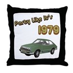 Party Like It's 1979 Throw Pillow