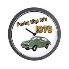Party Like It's 1979 Wall Clock
