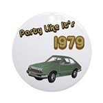 Party Like It's 1979 Ornament (Round)