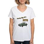 Party Like It's 1979 Women's V-Neck T-Shirt