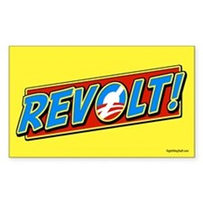 REVOLT! Rectangle Decal