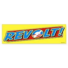 REVOLT! Bumper Bumper Sticker