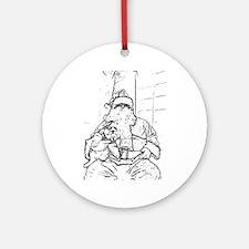 Color Me Santa Ornament (Round)