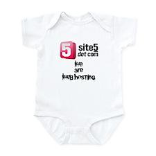 Site5: We Are Web Hosting Infant Bodysuit