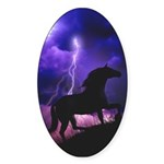 Into the Storm Oval Sticker (50 pk)