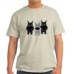 Schnauzer Nose/Butt Light T-Shirt