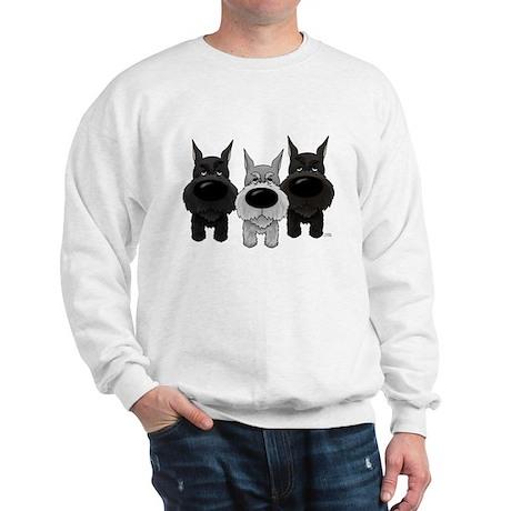 Schnauzer Nose/Butt Sweatshirt
