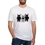Schnauzer Nose/Butt Fitted T-Shirt