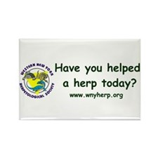Cool Herpetology Rectangle Magnet (10 pack)
