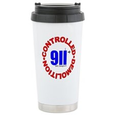 911 CONSPIRACY CONTROLLED DEM Travel Mug