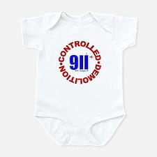 911 CONSPIRACY CONTROLLED DEM Infant Bodysuit