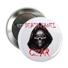 """Obama's Death Panel Czar 2.25"""" Button (100 pa"""